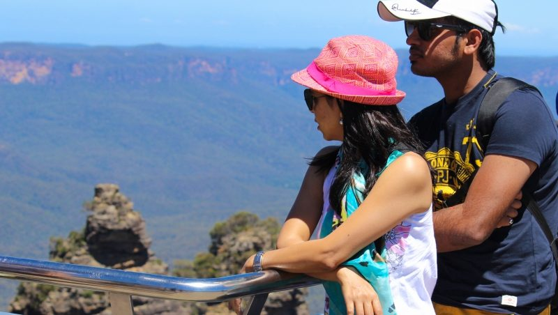 Ansul & Archana at Blue Mountains, Australia
